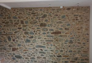 rénovation mur en pierre intérieur maison re jointement Pommeret Lamballe